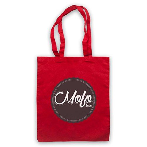 Mofo Bro Slogan Cape Tasche Rosse