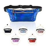 KATELUO Bauchtasche Gürteltasche Hüfttasche für Frauen, Sport Wasserdicht DREI Fächer mit Verstellbarem Gürtel Coole Taille G