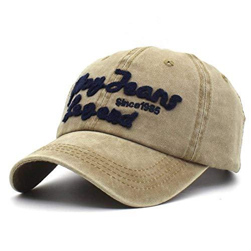 YPORE Vintage Cotton Fitted Hat Men Sports Baseball Caps Retro Snapback Hats Women Letter Cap
