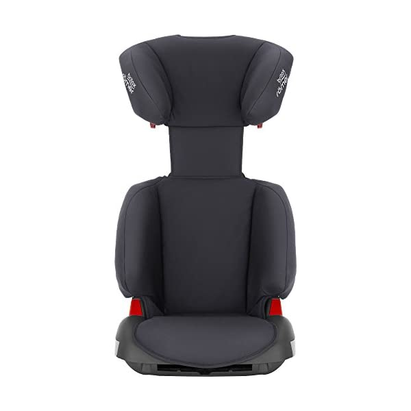 Britax Römer Adventure Group 2-3 (15-36kg) Car Seat - Storm Grey Britax Römer Intuitively positioned seat belt guides for straightforward installation every time Reassurance of high back booster safety with side impact protection Lightweight, easily transferable shell 3