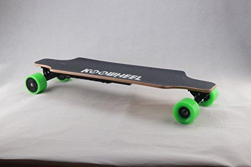 Electric-Skateboard-MIS--jour-Version-double-moteur-Brushless-Moyeu-Longboard-4300-mAh-batterie-avec-tlcommande