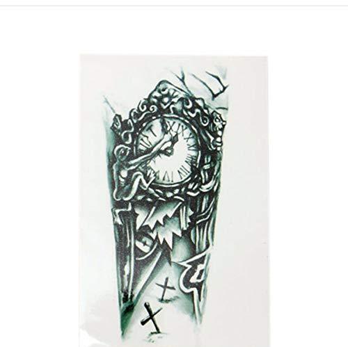 Lfvguiop tatuaggio temporaneo -grandi uomini del tatuaggio temporaneo impermeabile maniche tatuaggio per uomini conversione di tatuaggi trasferibili falso tatuaggio adesivi flash pcs 3
