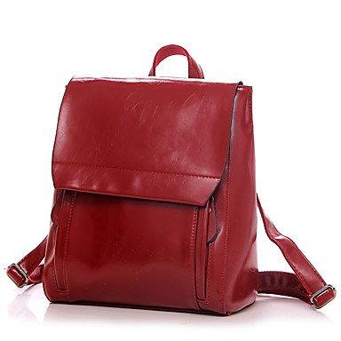 Frauen beliebte Mode Rucksack Red
