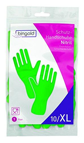 Nitril-Handschuhe Mehrweg-Handschuhe grün 1 Paar