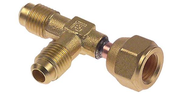 """CASTEL 8330//A Einstechventil Anschluss 1//4/"""" für Rohr 6-10mm SAE"""
