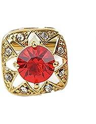 SAMGU Carré d'Or Cristal Rouge Hommes Cadeau Vintage pour les chemises de mariage cadeau Party