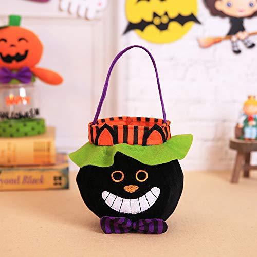 Kostüm Krallen Fake Katze - VICKY-HOHO Halloween Kinder Puppe Candy Sweet Jar Box Kinder Aufbewahrung Dosen Party Haus Dekor