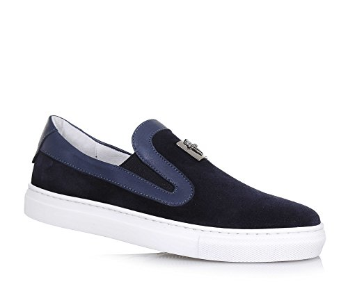 cesare-paciotti-boys-loafer-flats-blue-size-uk-15