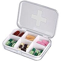 Kleine Pillendose Portable Portable Mini Pack Reisen Timing Abdichtung Feuchtigkeit Lagerung Pill Box Cute Transparent... preisvergleich bei billige-tabletten.eu