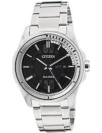 Citizen Analog Black Dial Men's Watch - AW0030-55E