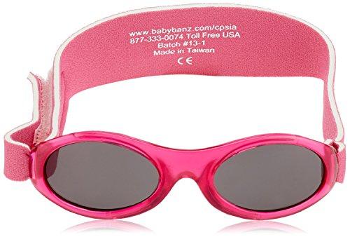 kidz Banz - Lunette de soleil ABBBK Ovale  - Garçon Pink