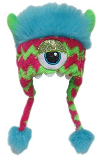 ch Kinder Erwachsene Karneval Halloween Wintermütze Jungen Mädchen Kindermütze 9004 (Monster Uni Kostüme)