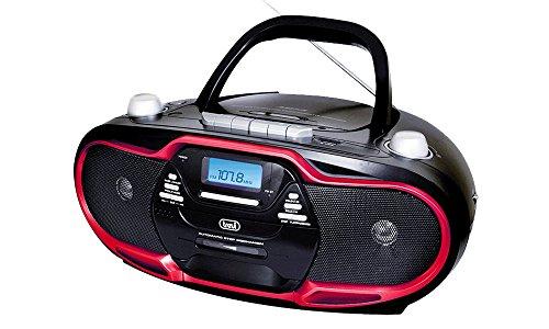 Trevi radioriproduttore Stereo cmp574USB, Kassette, CD, MP3, SB, SD Card, 20W (Am Fm-radio-tape-player)