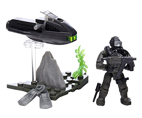 Call of Duty Mega Bloks Collector Construction Sets Figure - Seal Specialist (Cng72) (Halo-anzug Für Kinder)