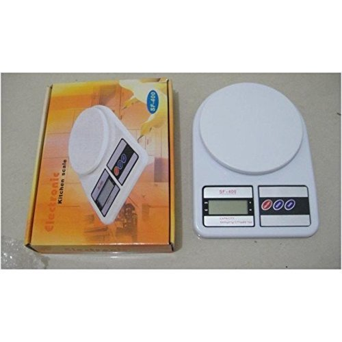 BDMP New Electronic Kitchen Digital Weighing Scale 10 Kg LCD Light Display Weight Measure Liquids Flour Etc