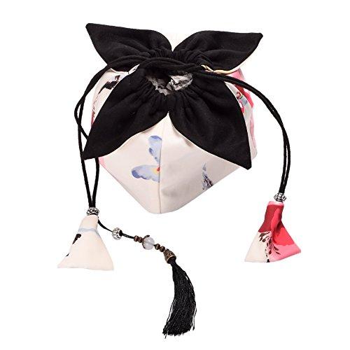 BLZ Niedlich Mädchen Kordelzug Tasche japanisch Kimono -