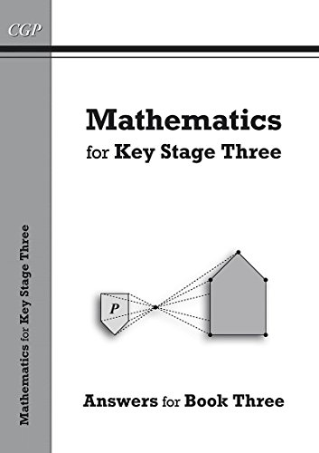 Mathematics for KS3, Answers for Book 3