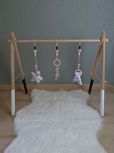 portique d 39 veil arche d 39 activit s montessori en bois de. Black Bedroom Furniture Sets. Home Design Ideas