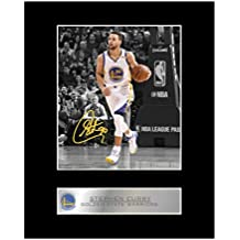 Stephen Curry - Foto firmada de la NBA Golden State Warriors # 1