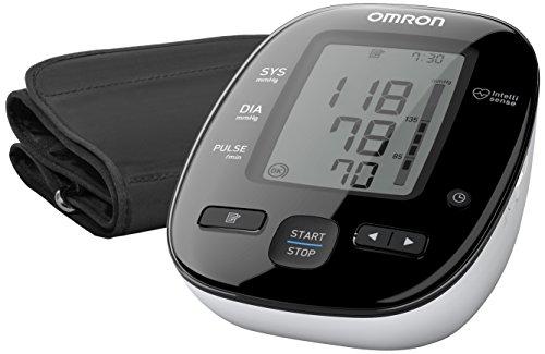 Omron MIT3 Misuratore di Pressione da Braccio Digitale, Sensore di Irregolarità Battito Cardiaco, 60 Misurazioni in Memoria