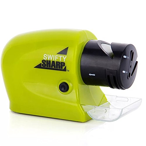 By Goank Swifty Sharp Cordless Motorized Knife Sharpener For Knife,Scissor and Screw-Driver