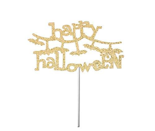 enaufsatz, Spinne, Tortenaufsatz, Spinnen-Wed Tortenaufsatz, Herbstparty-Dekoration, Halloween Glitzer Kuchen Dekoration, gruselige Kuchen ()