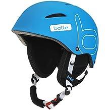 Bolle Helmet B-Style Soft - Casco de ciclismo BMX integral, color azul, talla 58-61 cm