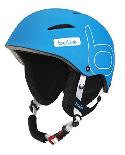 Bollé B-Style Soft Casco de Esquí, Unisex Adulto, Azul, 54-58 cm
