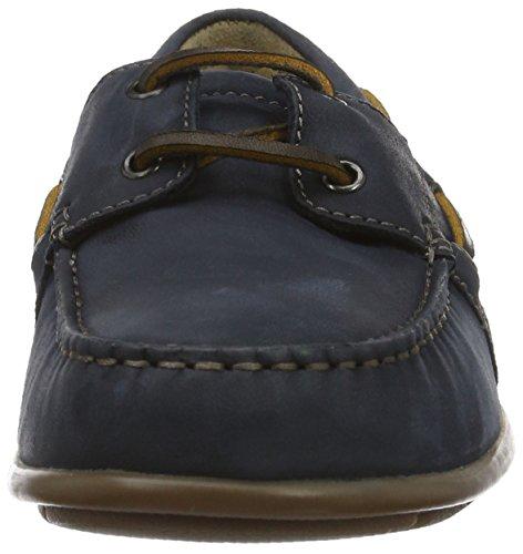 Ecco Herren Classic Moc 2.0 Bootsschuhe Blau (2058navy)