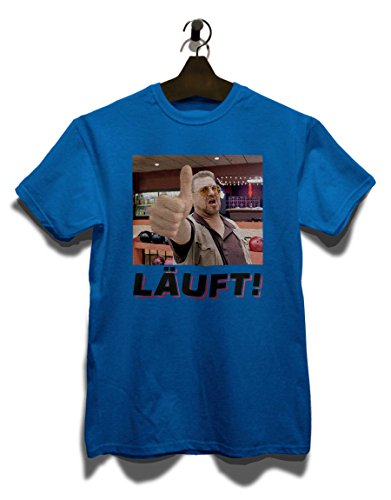 Laeuft 14 T-Shirt Royal Blau