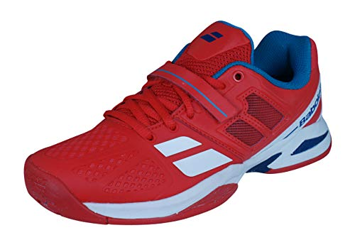 BABOLAT Propulse BPM Scarpa da Tennis Junior, Rosso, 34
