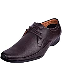 RJKART Faux Leather Partywear Casual Lace Up Formal Office Shoes For Men's/Boys