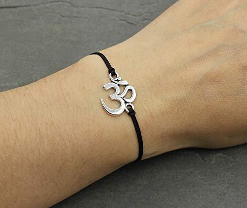 Om Zeichen Damen Armband Yoga Ma...