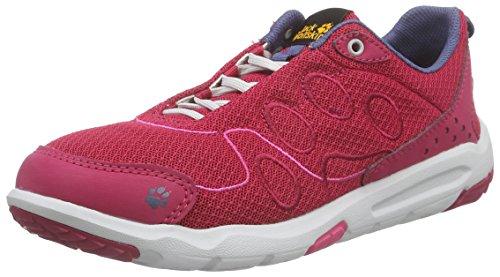Jack Wolfskin Monterey Ride Low W, Baskets Basses femme Rose - Pink (azalea red 2081)
