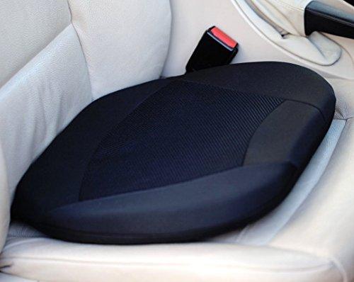 Kenley - Cojín con interior de silicona para el asiento del coche
