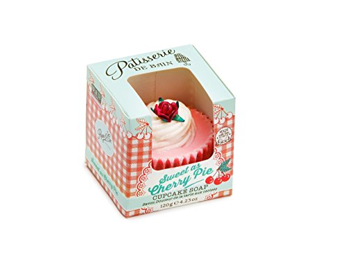 Rose & Co Sweet as Cherry Pie Cupcake Soap -