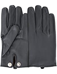 Mens Classic Genuine Soft Nappa Leather Driving Gloves Dress Fashion Motorbike Vintage Style