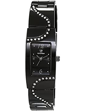 Time Piece Damen-Armbanduhr Elegance Analog Quarz Edelstahl beschichtet TPLA-90967-24M