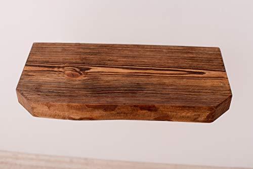 Ripiani In Legno Grezzo : Mensola legno grezzo per lavabo