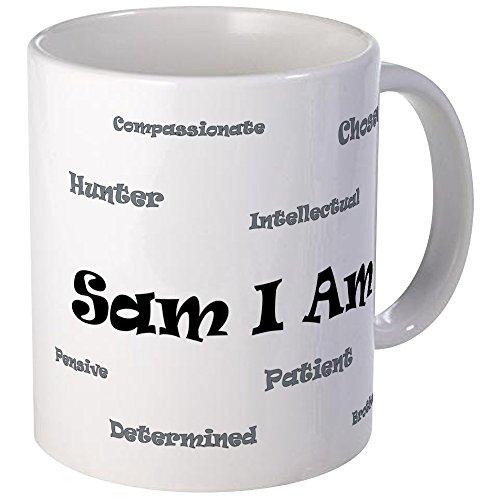 CafePress-Tazza Sam I Am Mug S-Bianco, Ceramica, Bianco, s