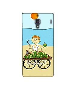Casotec Beach 3D Printed Hard Back Case Cover for Xiaomi Redmi 1S