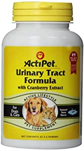 Urinary Tract Formula With Cranberry Extract, For Dogs & Cats, 67.5 g, Powder