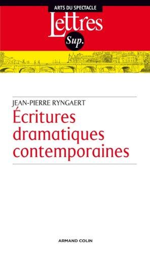 Écritures dramatiques contemporaines (Hors Collection)