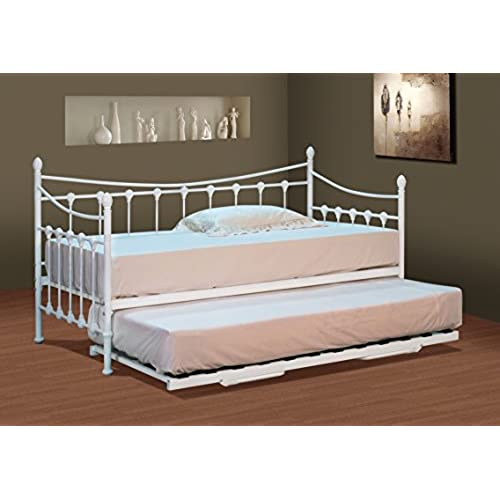 Classic Single Bed With Trundle Bed By Stompa: Trundle Beds: Amazon.co.uk