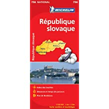 Carte NATIONAL Rpublique slovaque