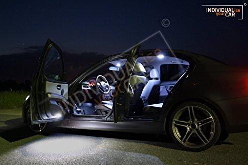 Innenraumbeleuchtung SET für 3er E90 Limousine - Cool-White mit Panoramadach