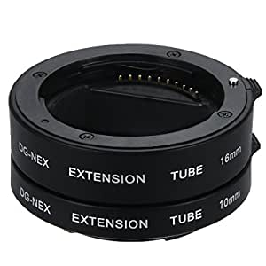 XCSOURCE® Macro Extension Tube pour Sony E-Mount NEX-3 NEX-6 NEX-5R NEX-7 A7S A7R A7 LF434
