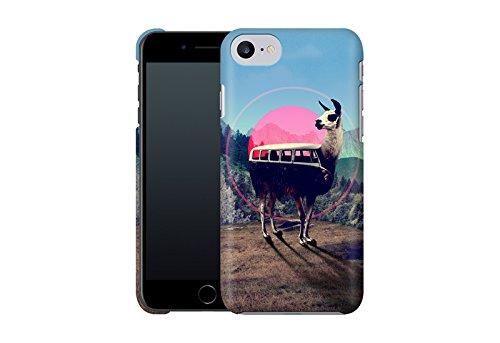 Handyhülle mit Tier-Design: iPhone 7 Hülle / aus recyceltem PET / robuste Schutzhülle / Stylisches & umweltfreundliches iPhone 7 Case - Apple iPhone 7 Schutzhülle: Blossom Bird von Terry Fan Llama von Ali Gulec