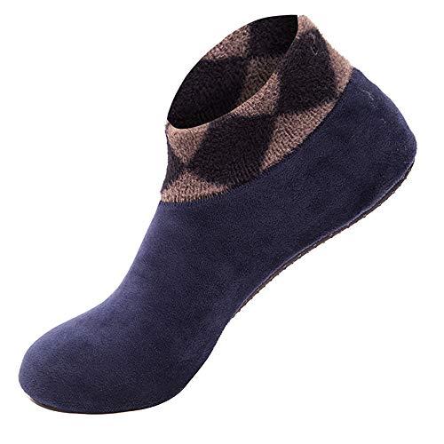 ZEELIY 2019-Das neue Frauen-Winter-warmes Zuhause-Bett-Socken-rutschfeste elastische Fußbodensocken-Slipper