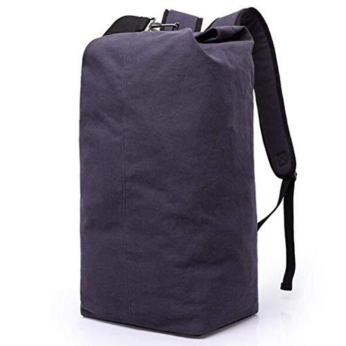 Irinay Trouver UNE Surprise Un Grande Toile Sac DOS Disponible Comme Voyager Sac DOS L Usure Hommes Et Femmes Utilisation Quotidienne 55L Abordable (Color : Blue Black, Size : One Size) Voyager-notebook-rucksack